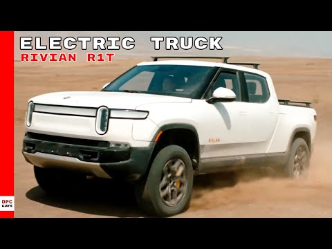 Rivian Electric Truck To Rival Hummer EV & Tesla Cybertruck