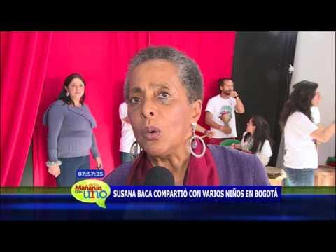 Susana Baca, referente de la música latina, visitó un Clan en Bogotá