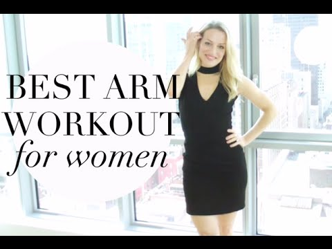 best arm workout for women april arms  youtube