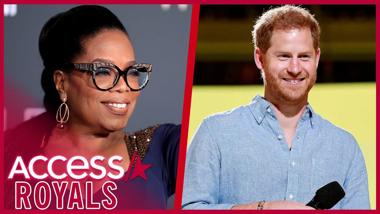 Prince Harry & Oprah Reuniting for Apple TV+ Town Hall