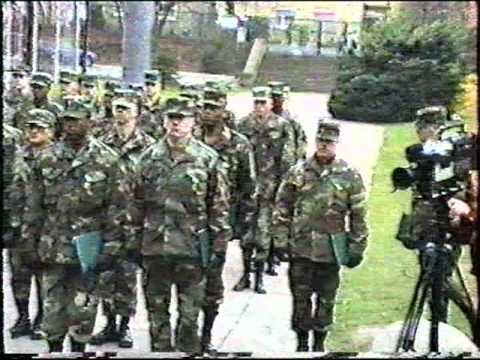Award Ceremony at 106th Transportation Battalion, Russelsheim Germany   (cont. part 2 of 4)