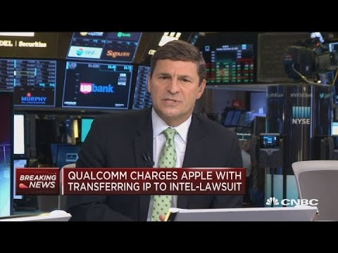 Qualcomm charges Apple with transferring IP to Intel, amending existing lawsuit