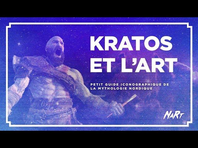 KRATOS et l'ART - petit guide iconographique de la mythologie nordique