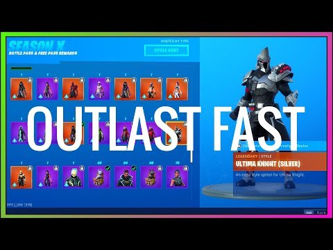 *NEW* HOW TO OUTLAST OPPONENTS FAST IN FORTNITE SEASON X! [2019] (Fortnite Battle Royale)