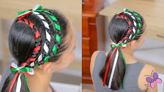 Triple Ribbon Braided Headband