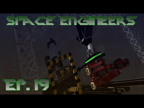 Space Engineers Roleplay - Automated Printer Pickup and Lockdown Systems #19