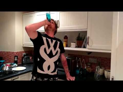 I HATE BLUE WKD... 6 in 1 minute!