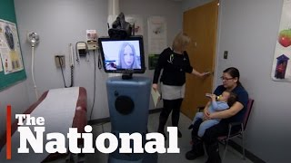Robot doctors helping Canadians with limited access to health care