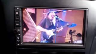 видео Автомагнитола 2DIN XPX 7AZ 7