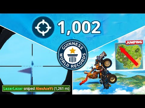 Breaking EVERY FORTNITE WORLD RECORD
