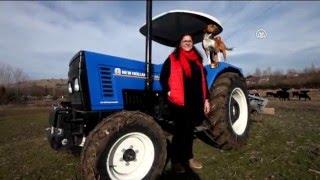 """"""" Çeyizimde traktör olmasını tercih ettim"""""""