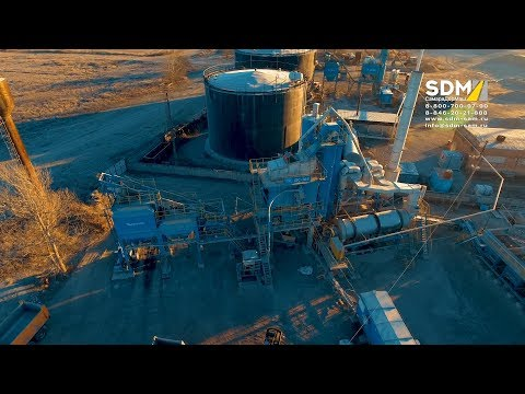 Асфальтосмесительная установка ДС-168