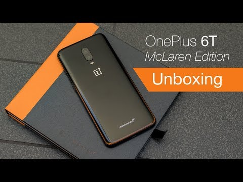 OnePlus 6T McLaren Edition unboxing from McLaren HQ!