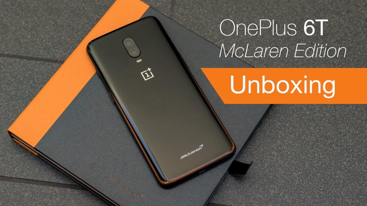 Oneplus 6t Mclaren Edition Unboxing From Mclaren Hq Youtube