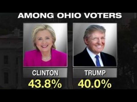 Trump, Clinton campaign in Ohio on Labor Day