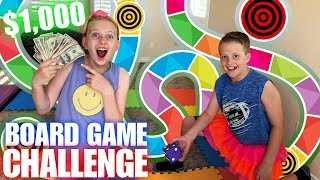Giant Board Game Challenge - Winner Gets $1,000!!