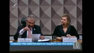 CPMI Fake News - Depoimento da deputada federal Joice Hasselmann