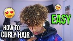 HOW TO GET CURLY HAIR EASY! BEST TIPS AND TRICKS FOR MEN & WOMEN (Curly Hair Tutorial)