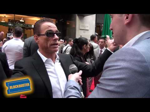 The Expendables 2 Premiere - Red Carpet Interviews