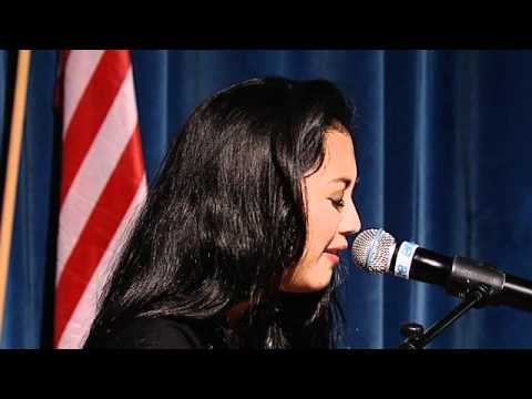 Performing 'Unlock your power' | Sherina Munaf | One Young World