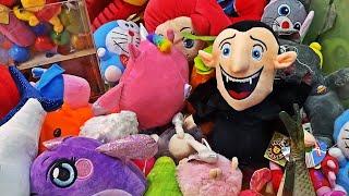 ТЫ НЕ ПОВЕРИШЬ!!! СКРЕПЫШИ 3 в Аппарате с игрушками / Драко из Монстры на каникулах (feat Настя)
