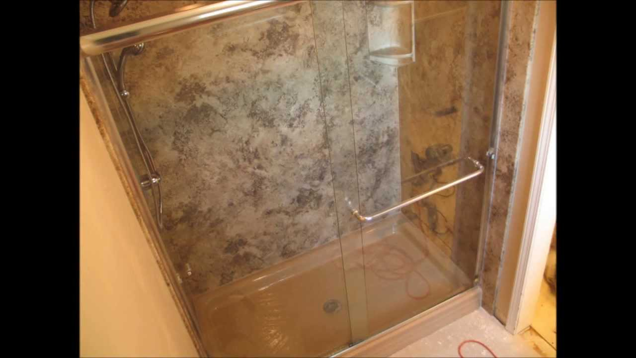 Super fast bathroom remodel time lapse youtube for Fast bathroom remodel