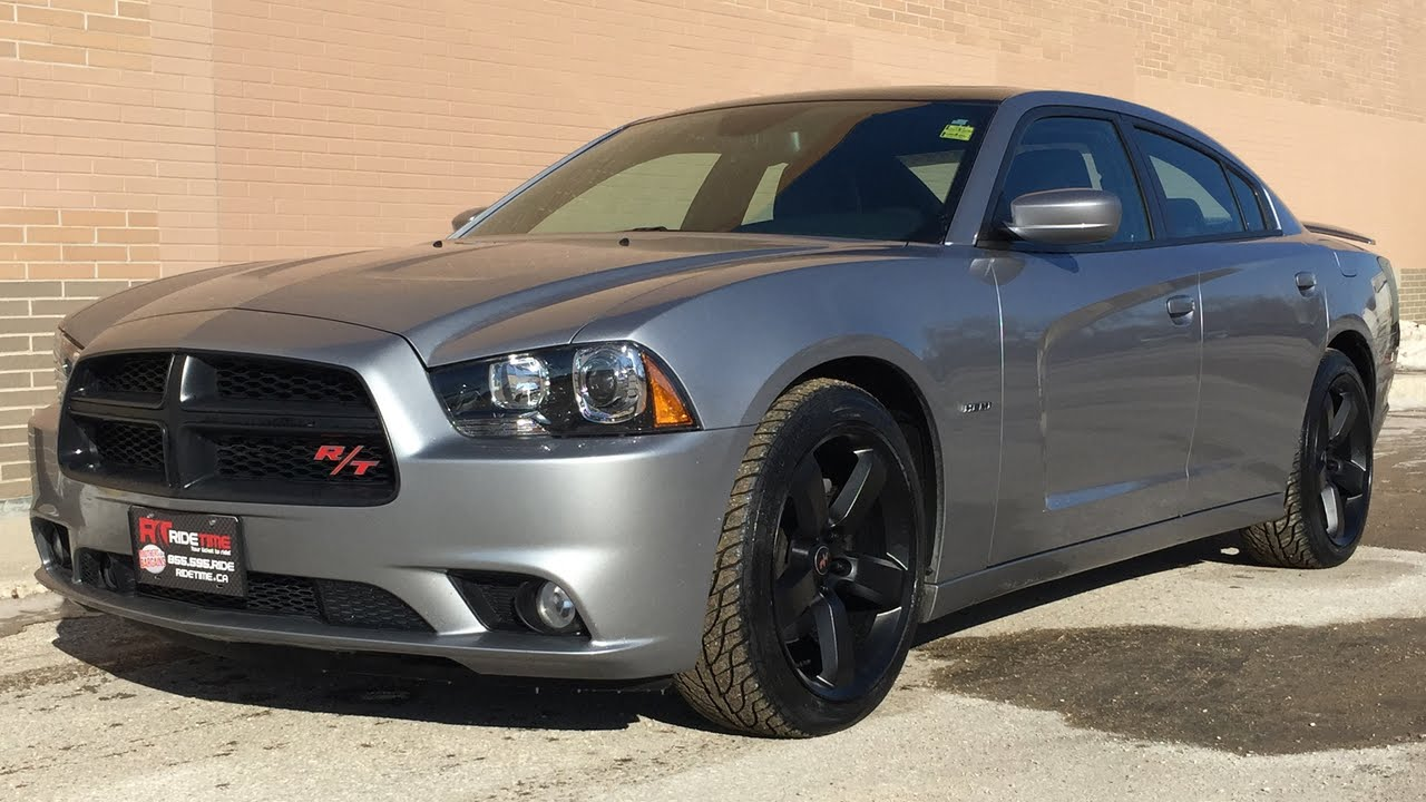 2013 dodge charger r/t - hemi, sunroof, leather heated seats