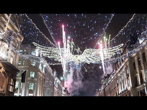 London Regent Street Christmas Lights Switch on 2017