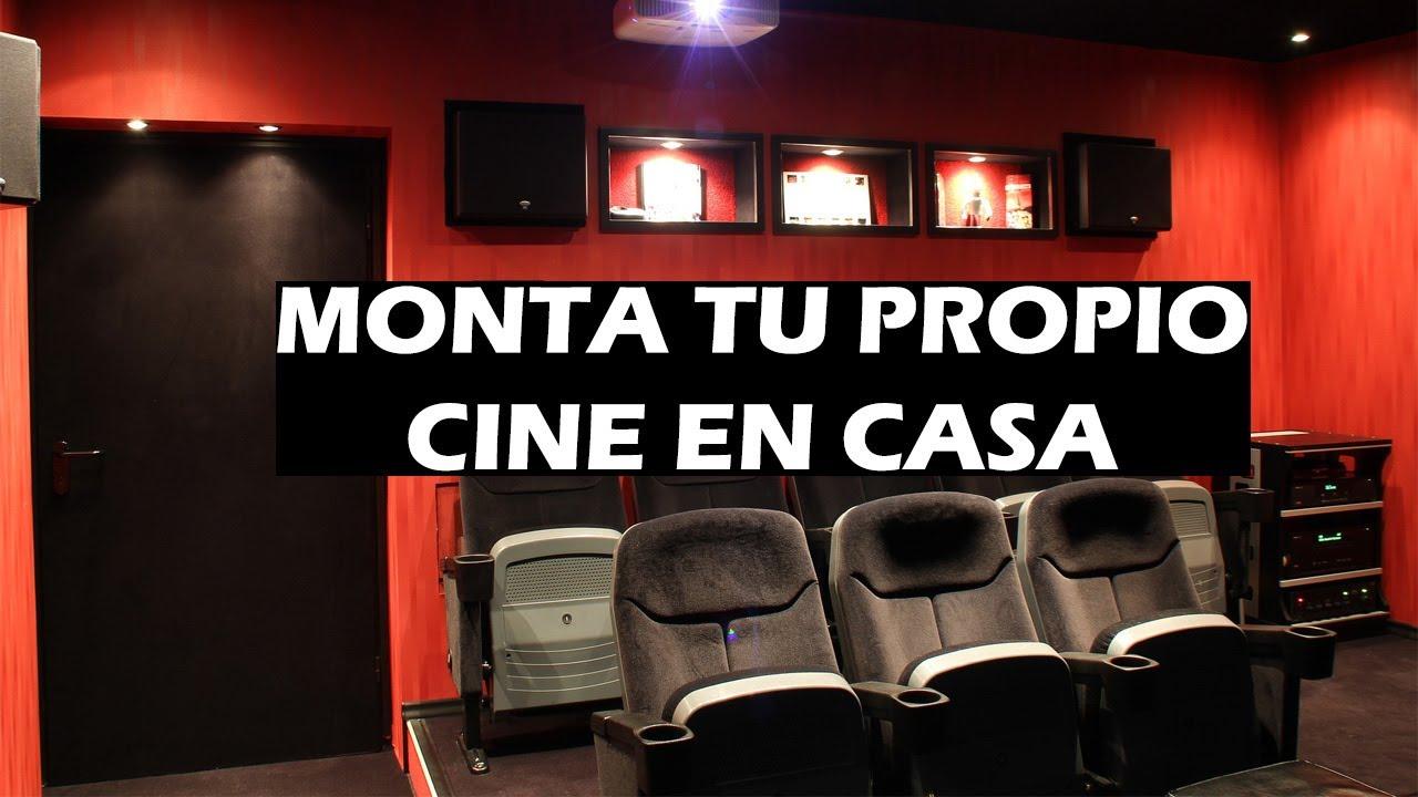 Consejos para montar tu propio cine en casa de calidad - Montar un cine en casa ...