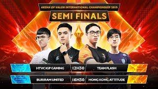 Đánh Bại HTVC IGP GAMING, TEAM FLASH Tử Chiến Với Buriram United Tại Chung Kết - Bán Kết AIC 2019
