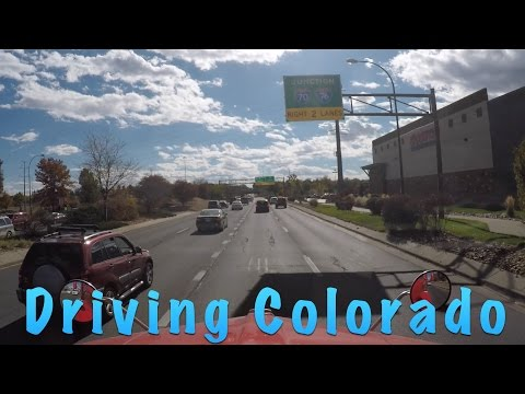 Trucking - Traveling I-70 In Colorado