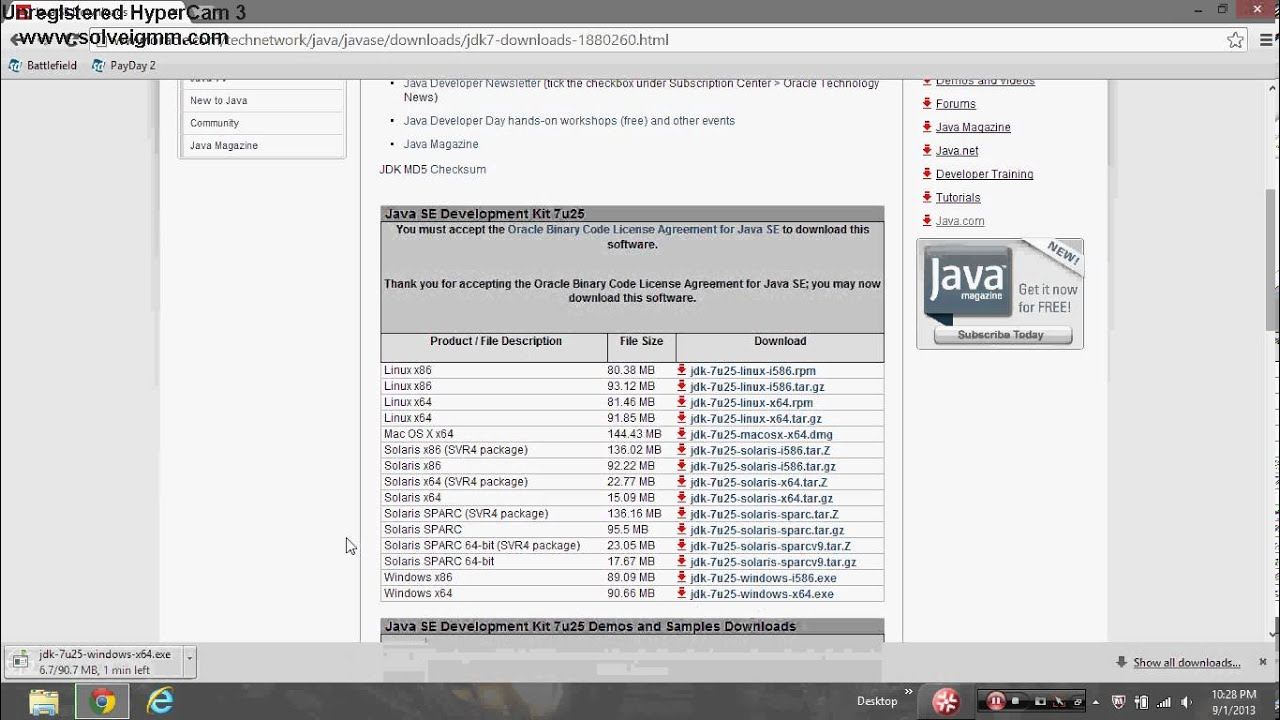 How to get Java TM Platform SE Binary On Your PC - YouTube