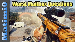 The Worst Monday Mailbox Questions - Rainbow Six Siege