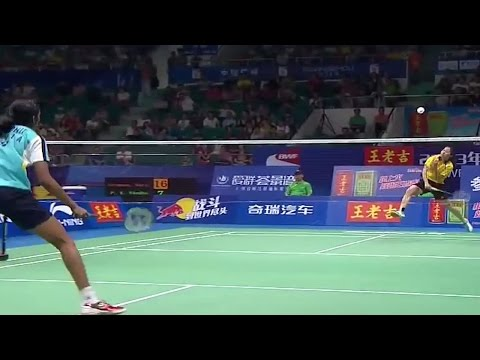 R. Intanon v P.V. Sindhu |WS-SF| BWF World Championships 2013