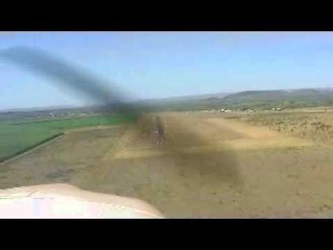 Piper Lance Landing at YPKU Kununurra, Western Australiat