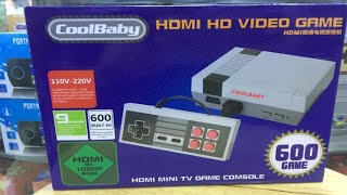 /// FAKE Clone Mini Nes Classic HDMI \\\  (600 in 1) COOL BABY / Nintendo BOOTLEG / Review, Unboxing