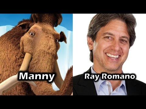 Characters and Voice Actors - Ice Age