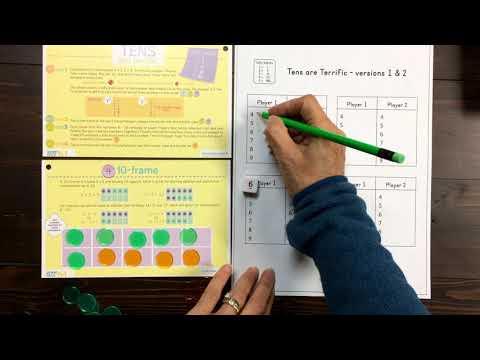 Family Math Night Power Pack Game: Tens areTerrific