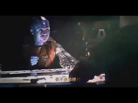 Tony Stark and Nebula playing paper football on space (HD) | Avengers:Endgame