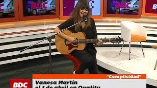 """""""Complicidad"""", por Vanesa Martín en Bien De Córdoba (BDC)"""