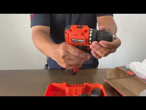 Unboxing MARK-X MINI BRUSHLESS CORDLESS DRILL C/W 2X 2.0AH BATTERY & CHARGER