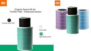 Enhanced filter for Xiaomi Airpurifier 2/2S (unboxing)