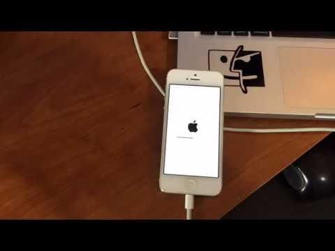 Installing iOS 10 iPhone 5