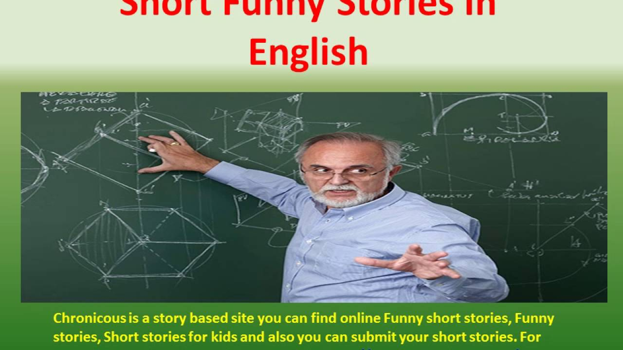 Very Funny Short Stories Funny Story