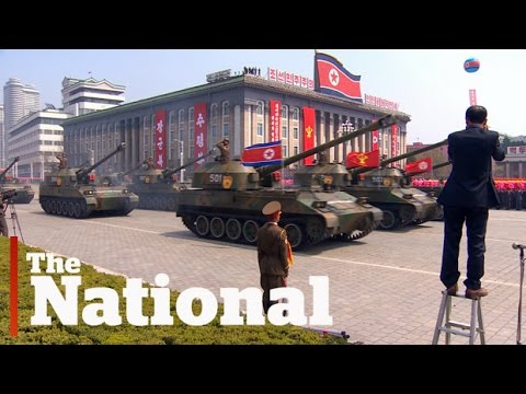 Thumbnail: Huge parade in North Korea shows off military might