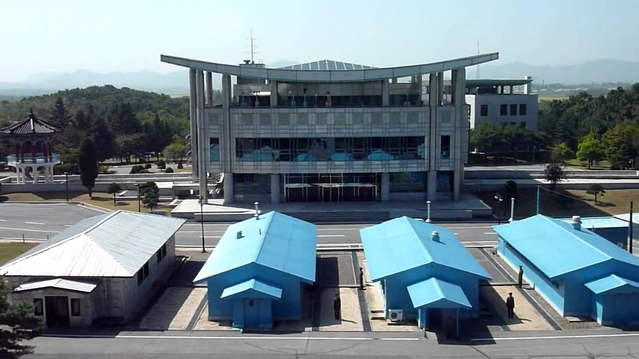 北朝鮮☆板門店(北朝鮮側から韓...