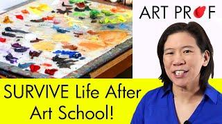 الحياة بعد مدرسة الفنون: ما هي الخطوة التالية ؟ Live Q & A مع الأستاذ كلارا بدلا