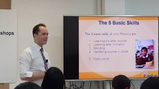 The 5 Basic Skills of Jolly Phonics by Jolly Kids Books Thailand
