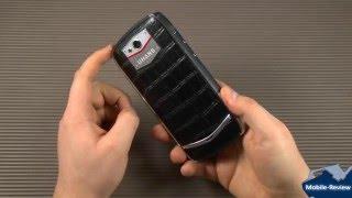 Обзор смартфона из кожи и металла - UHans U200