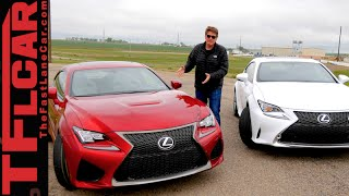 Lexus RC F Sport 2015 Videos